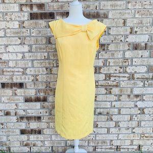 Sandra Darren yellow dress size 12